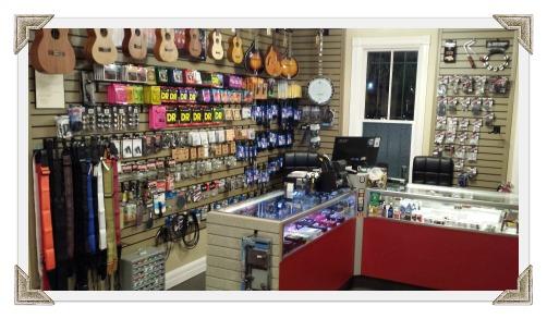 guitar accessories w frame